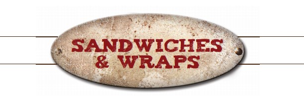 sandwiches and wraps